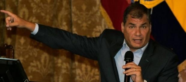 Rafael Correa, presidente do Equador