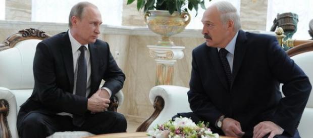 Vladimir Putin in vizita in Belarus