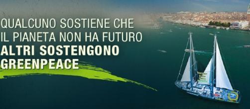 Campagna di Greenpeace accendi il sole