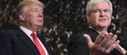 Restore American Glory » Trump Eyes Gingrich as Running Mate - restoreamericanglory.com