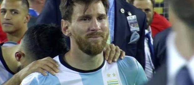 Messi no ha podido lograr nada con la selección Argentina.