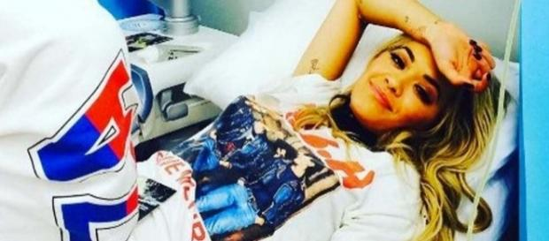 Rita Ora in hospital due to exhaustion