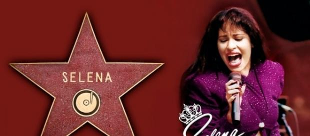 Selena Quintanilla to get a Walk of Fame star. (Yahoo Images)