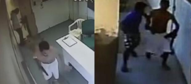 Bandidos entram com tudo em hospital