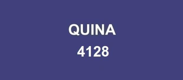 Divulgação do resultado da Quina 4128 nessa segunda-feira