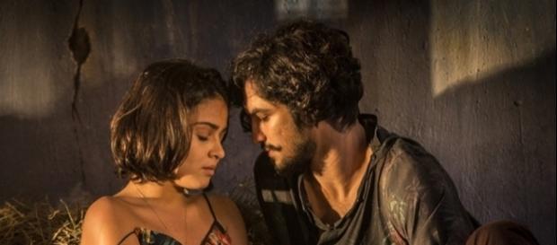 Olívia e Miguel podem se beijar (Divulgação/Globo)