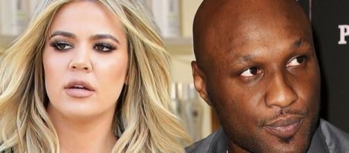 Khloé Kardashian and Lamar Odom (Photo: irishmirror.ie)