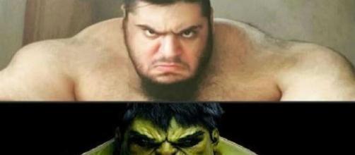 Sajad Gharibi, l'Hulk iraniano che combatterà contro l'Isis