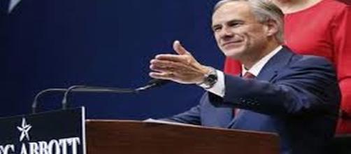 Texas Governor Greg Abbott, re: http://www.google.com/advanced_image_search