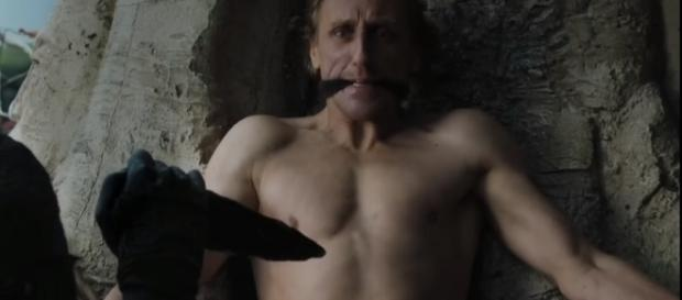 Game of Thrones: the creation of a White Walker. Screencap: Game of Thrones Updates via YouTube