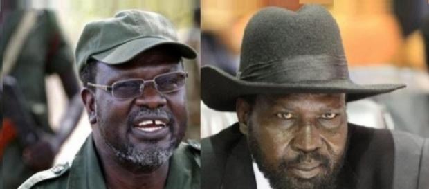 Machar y Kiir están enfrentados