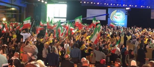 MEK rally 2016 Paris/Photo via National Council of Resistance of Iran