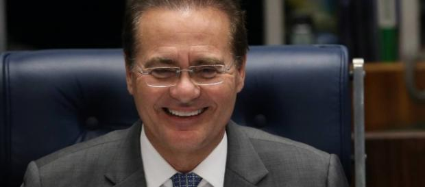 Renan Calheiros, presidente do Senado Federal - globo.com