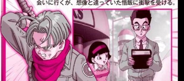 Scan de la revista Shonen Jump de esta semana