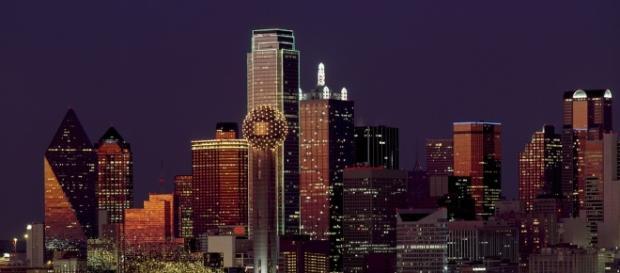 The city of Dallas' skyline/Photo via Pixabay