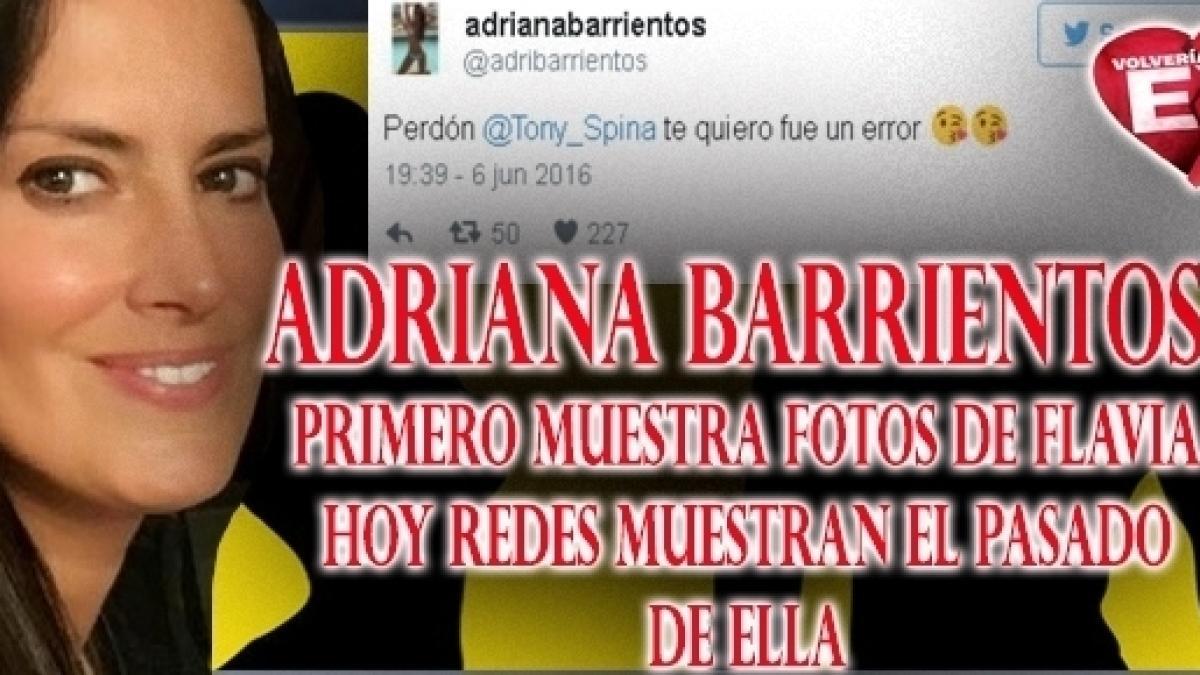 Vctex Adriana Desnudó A Flavia En Twitter Hoy Redes Muestran Que
