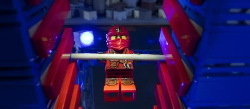 """American Ninja Warrior"" is a popular TV show that LEGO had recreated using their iconic toys. Photo credit courtesy of LEGO, used with permission"