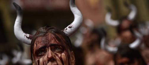 El final de los toros en San Fermín
