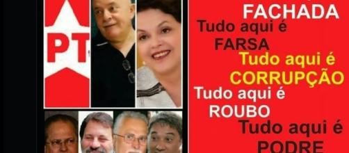 Impossível que não caiam as máscaras (A DIREITA BRASILEIRA EM AÇÃO: Fevereiro 2014 - blogspot.com)
