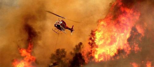 In queste ore in Sardegna sono dovuti intervenire tre Canadair e tre elicotteri dell'antincendio.