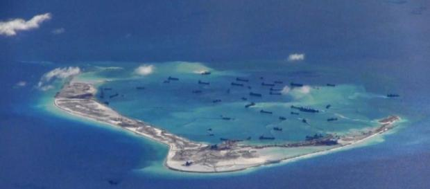 China ha construido islas artificiales