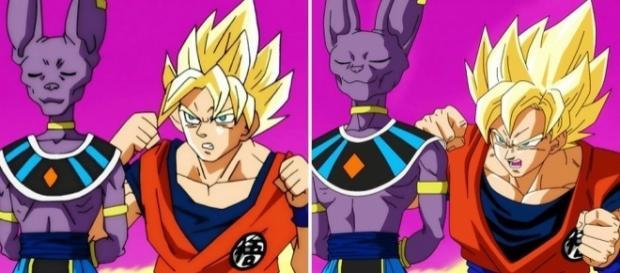 Correcciones en las animaciones de Dragon Ball Super