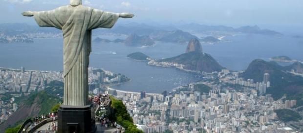 Cristo redentor, cidade do Rio de Janeiro.
