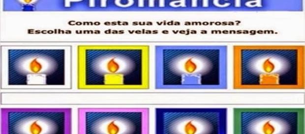 Cada cor de uma vela revela como anda sua vida amorosa
