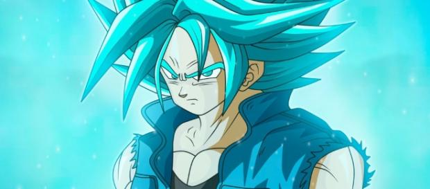 TRUNKS DEL FUTURO SUPER SAIYAJIN BLUE