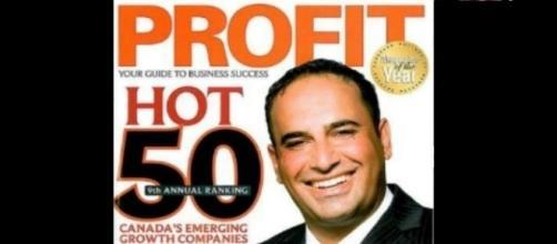 Alex Haditaghi, award winning entrepreneur via Twitter/@Alexhaditaghi