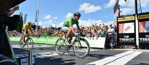 El eslovaco Peter Sagan logró su segundo triunfo de etapa en el Tour de Francia al imponerse al esprint en Montpellier, en ocasión de la etapa 11