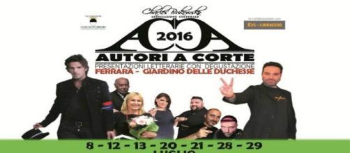 Ferrara Letteratura, Autori a Corte 2016