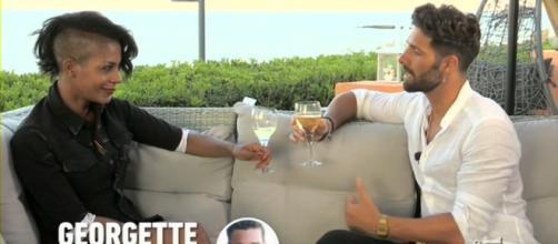 Georgette si è avvicinata molto al single Claudio