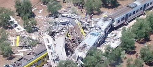 Incidente ferroviario in Puglia