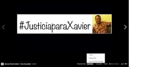 #justiciaparaxavier-guionista ecuatoriano