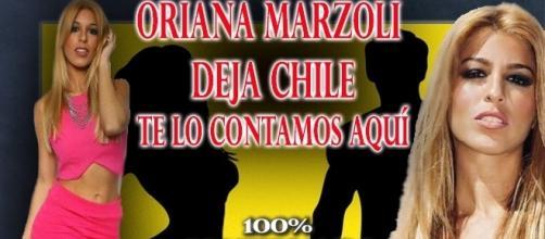 Oriana Marzoli deja Chile y vuelve a Madrid
