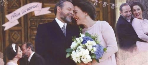 Raimundo e Donna Francisca, due protagonisti de Il Segreto