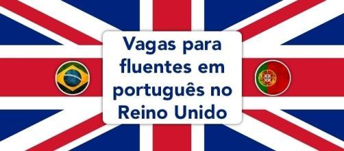 Reino Unido tem centenas de oportunidades para quem fala português