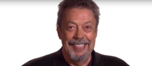 Screen capture of actor Tim Curry. What About Dick/YouTube.