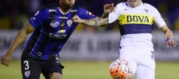 A equipe de Carlos Tévez se classifica para a final da Libertadores com uma vitória simples por 1 a 0.