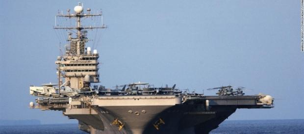 Aircraft carrier in Persian Gulf ... - cnn.com