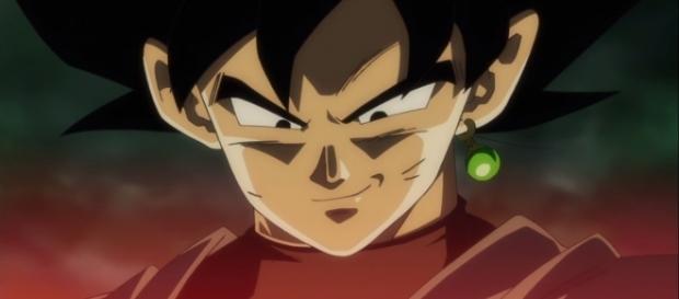 Black recordando la pelea con Goku
