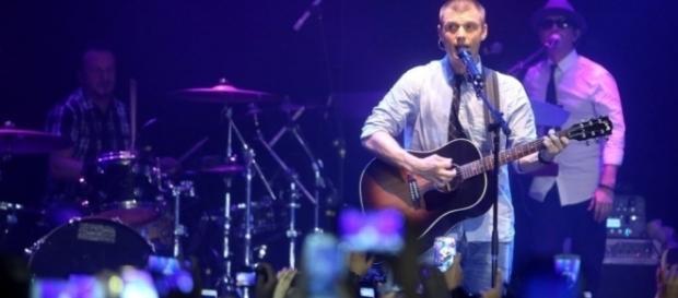 Nick em show realizado em SP dia 10 de julho (Foto: Ricardo Matsukawa/UOL)