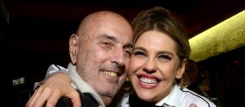 Babenco e a atriz Bárbara Paz, sua esposa.