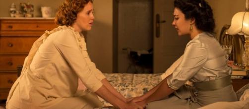 Francisca consuela a su hermana Elisa /Tve1