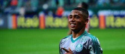 O craque Gabriel Jesus pode fazer muita falta ao Palmeiras