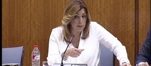 Susana Díaz es la presidenta de la Junta de Andalucía