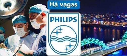 Vagas abertas na Philips - Foto: Reprodução Philips