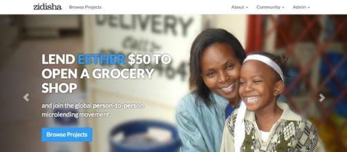 Zidisha loans are often used to help people start businesses. Photo credit courtesy of Zidisha, used with permission.