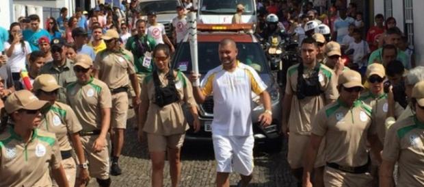 Força Nacional faz segurança da Tocha - Imagem/Facebook